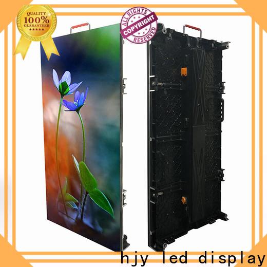 Haojingyuan led display panel factory for shopping mall