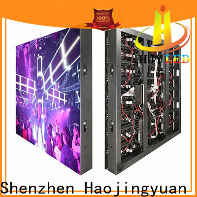 Haojingyuan high brightness led display manufacturers for hotels