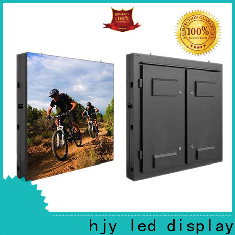 Haojingyuan outdoor fixed led display company for school