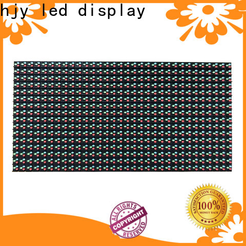Haojingyuan Top led display module board for business for street