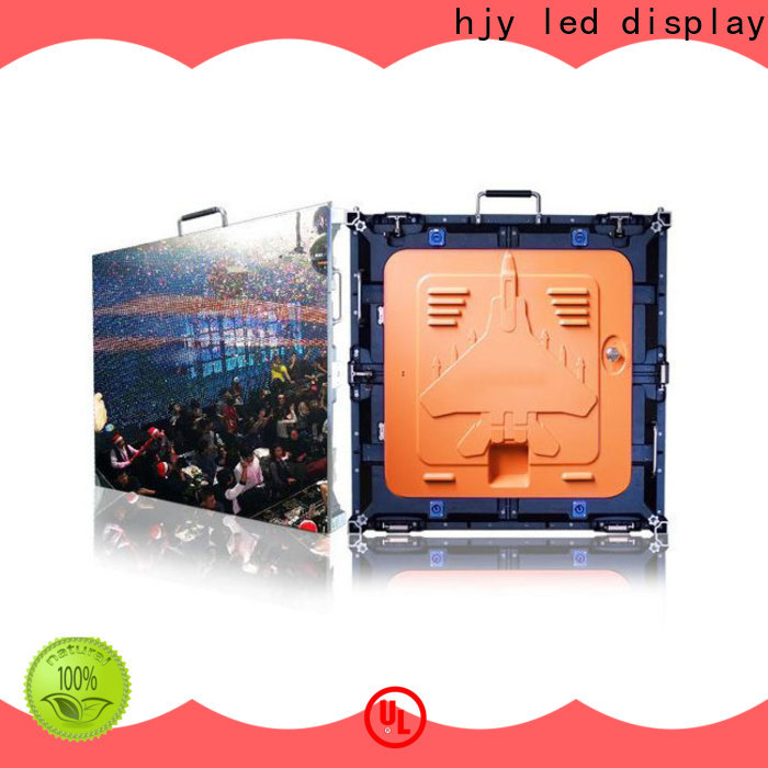 Haojingyuan best outdoor led screen manufacturers for taxi