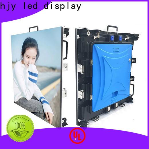 Haojingyuan Top display panel led manufacturers for stadium