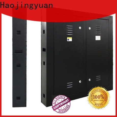 Haojingyuan building led display panel Suppliers for school