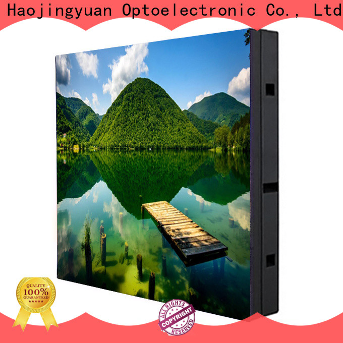 Haojingyuan building led display panel for business for lobby