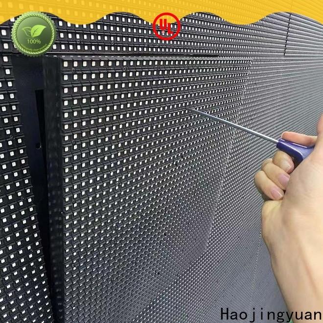 Haojingyuan led video screen manufacturers for school