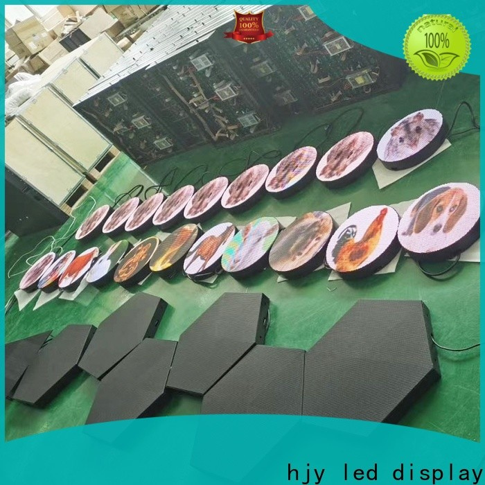 Haojingyuan High-quality mobile led display for business for for house