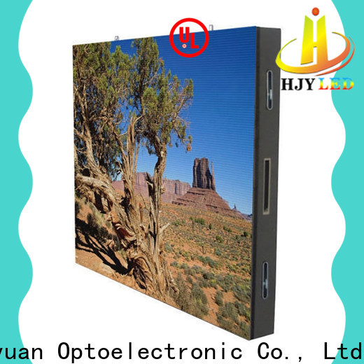 Haojingyuan Best indoor led display for business for hotels