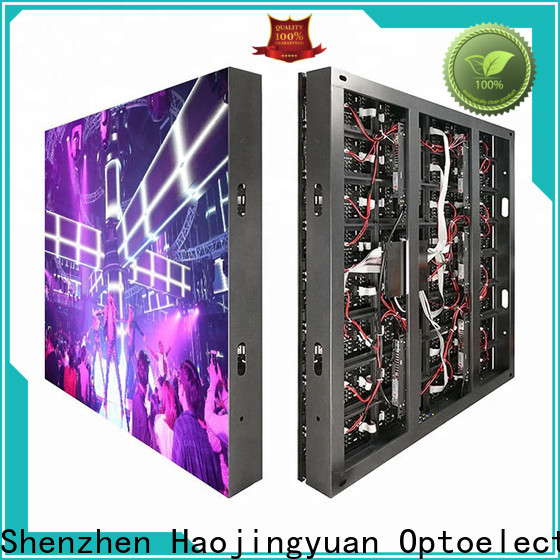 Haojingyuan building led display panel Supply for lobby