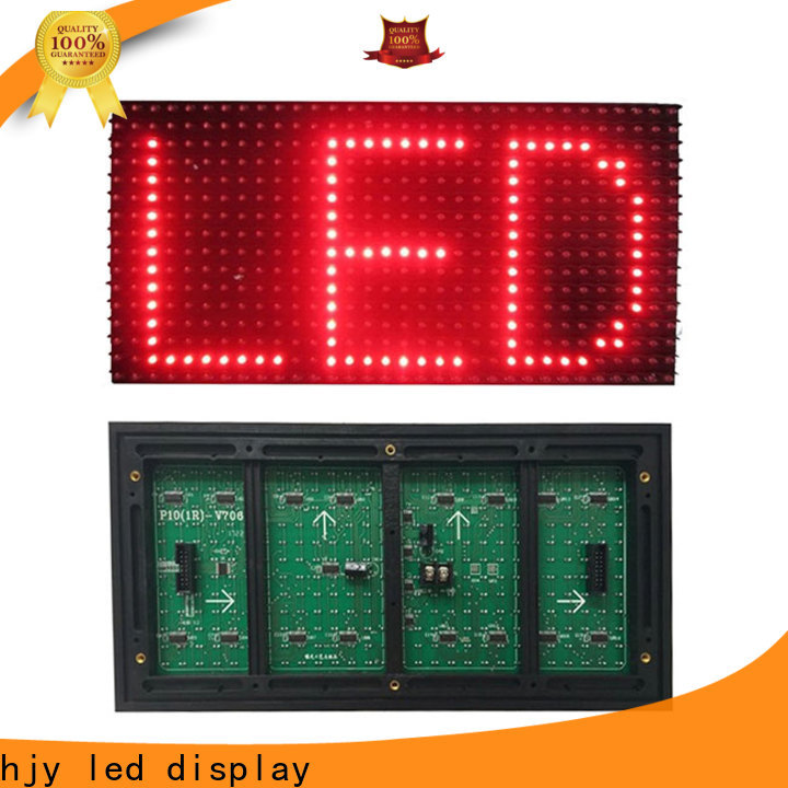 Haojingyuan Latest led display module panel Supply for street