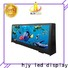 Haojingyuan Custom taxi top led display Suppliers for restaurant
