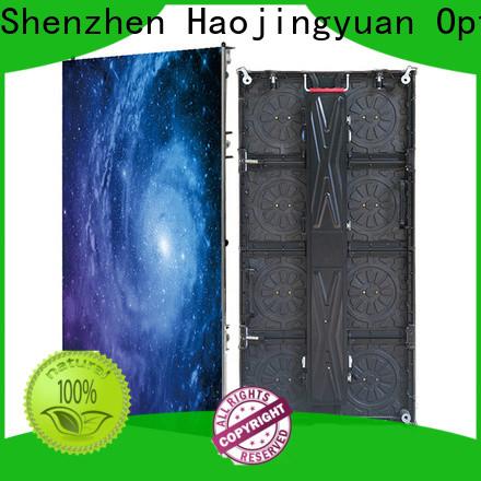 Haojingyuan New led advertising board company for stadium