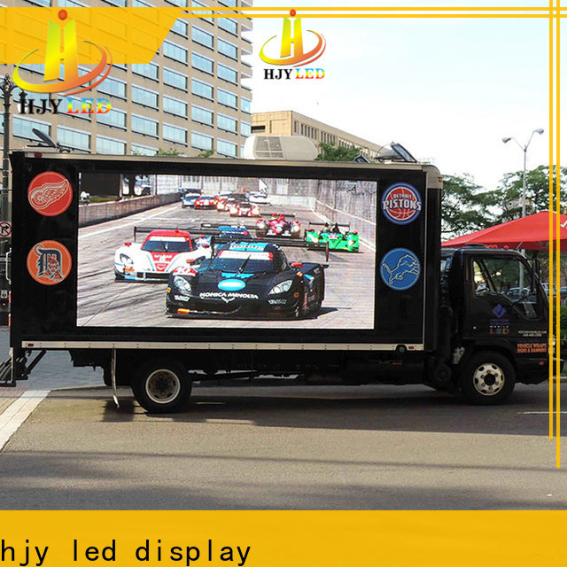 Wholesale truck led display company for birthday party