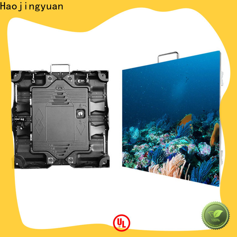 Haojingyuan flexible led screen display Suppliers for taxi