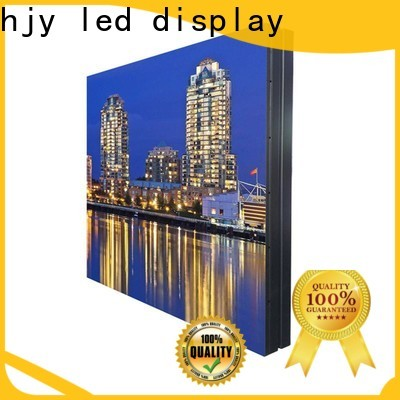 Top led display screen for business for hotels