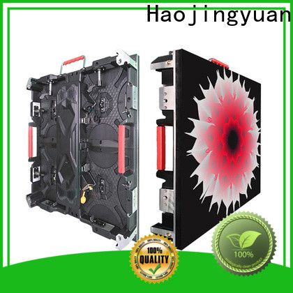 High-quality led video screen factory for building