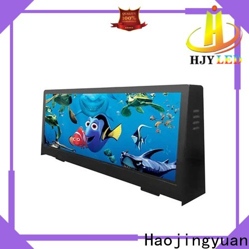 Haojingyuan Latest taxi top display for business for wedding