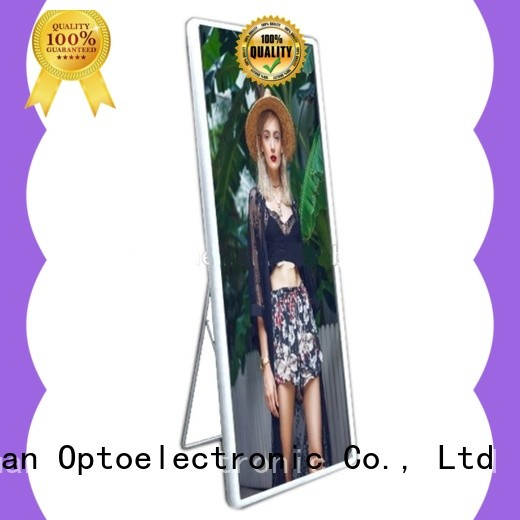 high quality poster led display advertising manufacturer for air port